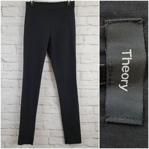 Theory Skinny Fit High Waist Legging Pants Stretch